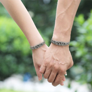 Pulseras para parejas enamoradas